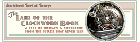 Archived story: The Lair of the Clockwork Book