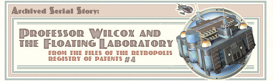 Archived story: Professor Wilcox and the Floating Laboratory
