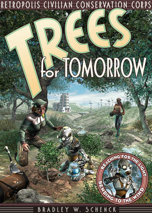 Enlarge: The Civilian Conservation Corps and 'Trees for Tomorrow'