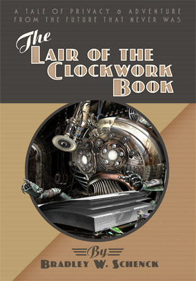 The Lair of the Clockwork Book - cover image